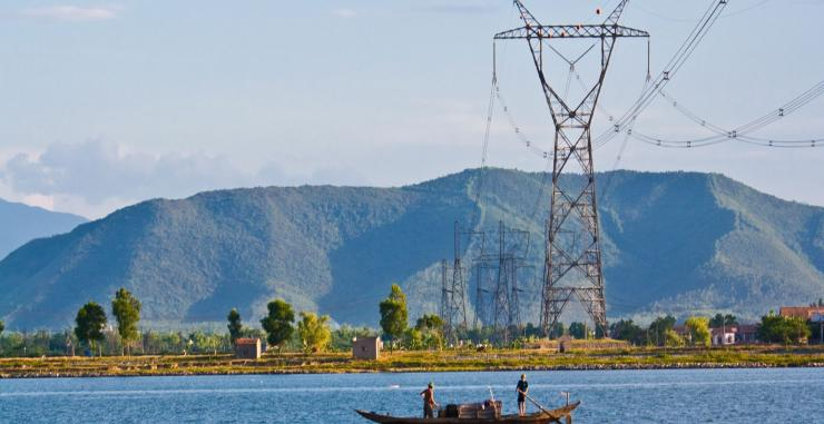 500kV Transmission line North - South_ Circuit 2 (Crossing Gianh River )